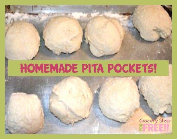 Homemade Pita Pockets!