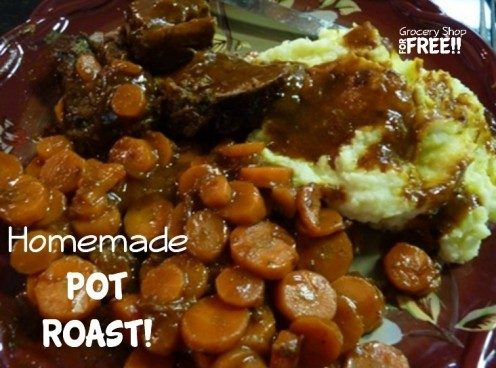 Homemade Pot Roast!