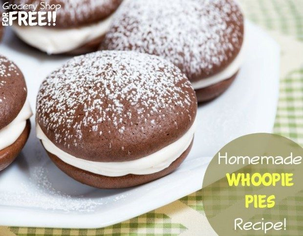 Homemade Whoopie Pies Recipe!