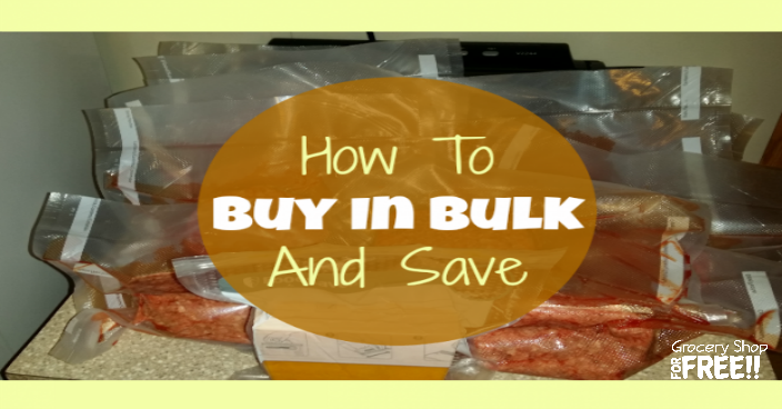 In our house now and especially when we had 4 kids (and all of their friends) at home we worked hard to save money on groceries in every way we could.  We learned quick How To Buy In Bulk And Save!  Check this out to learn how!