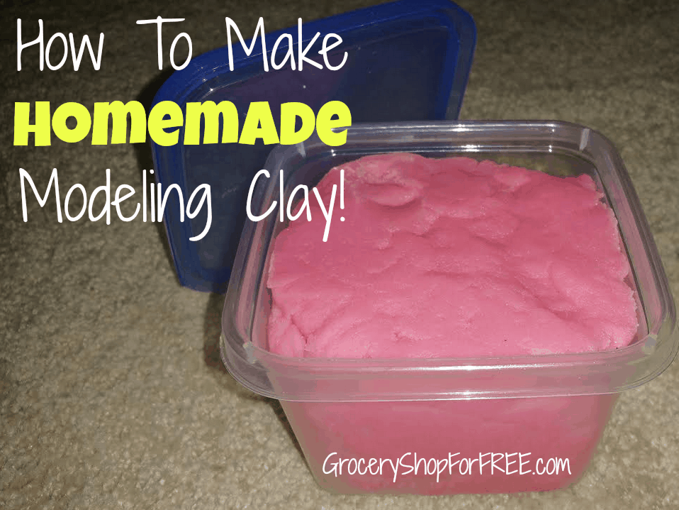 Make modeling clay at home