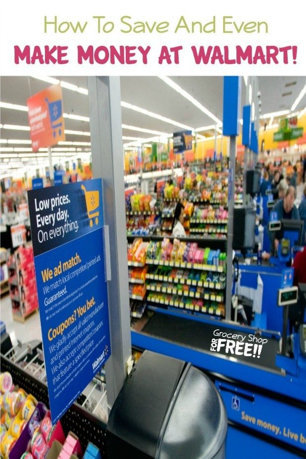 How To Save And Even MAKE Money At Walmart!