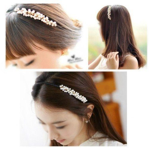 Imitation Pearls Headband Only $2.57 + FREE Shipping!