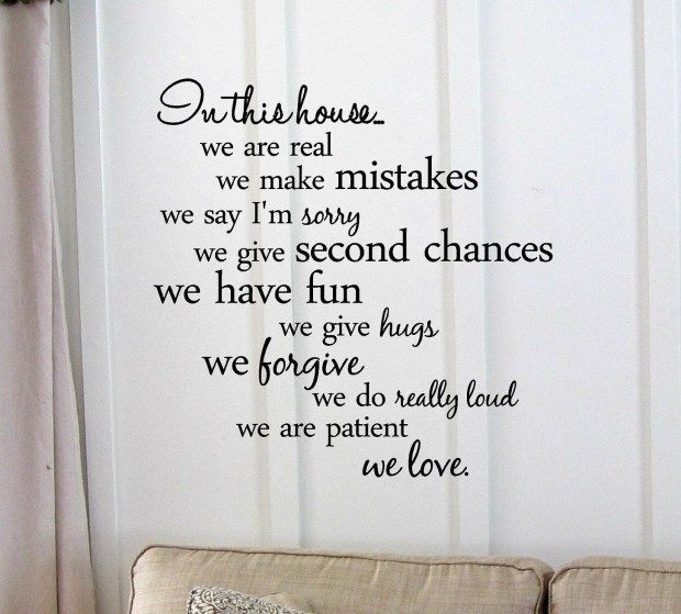 In This House...Wall Decal Just $4.27 + FREE Shipping!