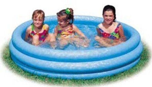 Inflatable Crystal Blue Swimming Pool Just $6.89!