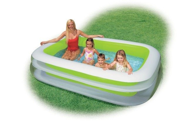 Intex Swim Center Family Inflatable Pool Just $19.88! (reg. $29.99)