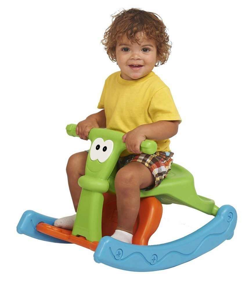 Kids Sit-N-Rock 2-in-1 Combination Chair-Rocker