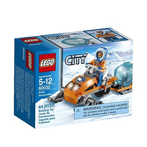 LEGO City Arctic Snowmobile Building Toy