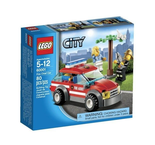 LEGO City Fire Chief Car Just $7.98!