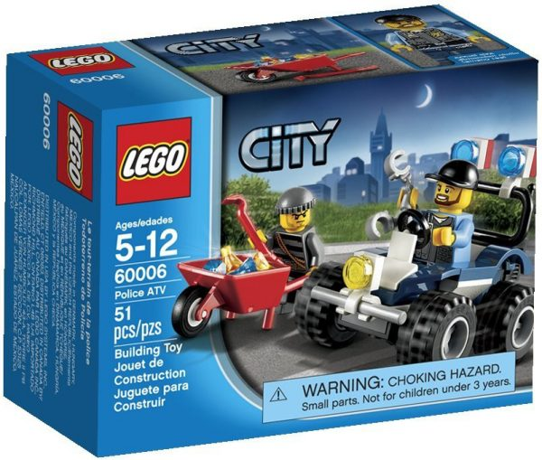 LEGO City Police ATV