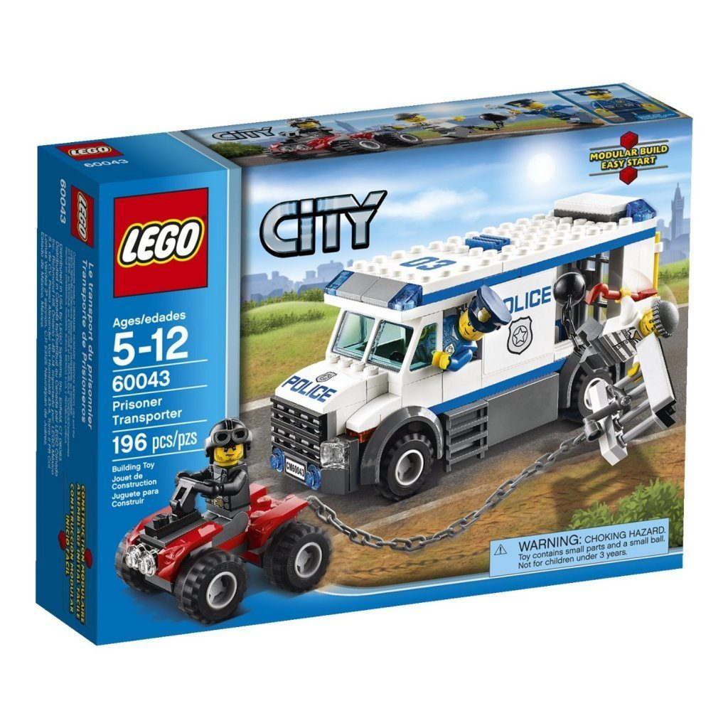 LEGO City Police Prisoner Transporter