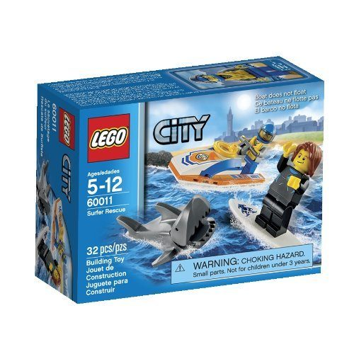 LEGO City Surfer Rescue Toy Building Set $6.99 + FREE Shipping with Prime!