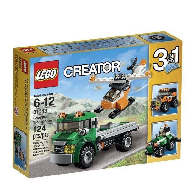 LEGO Creator Chopper Transporter Just $7.99!