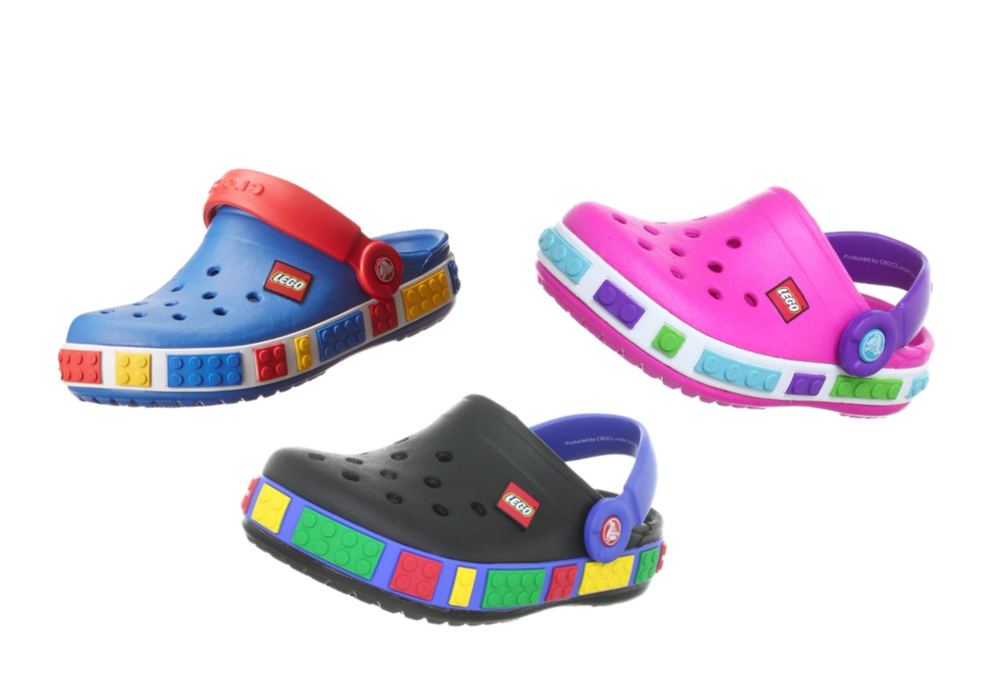 Crocs Crocband Lego Backstrap Clogs As Low As $20.99 + FREE Prime Shipping!
