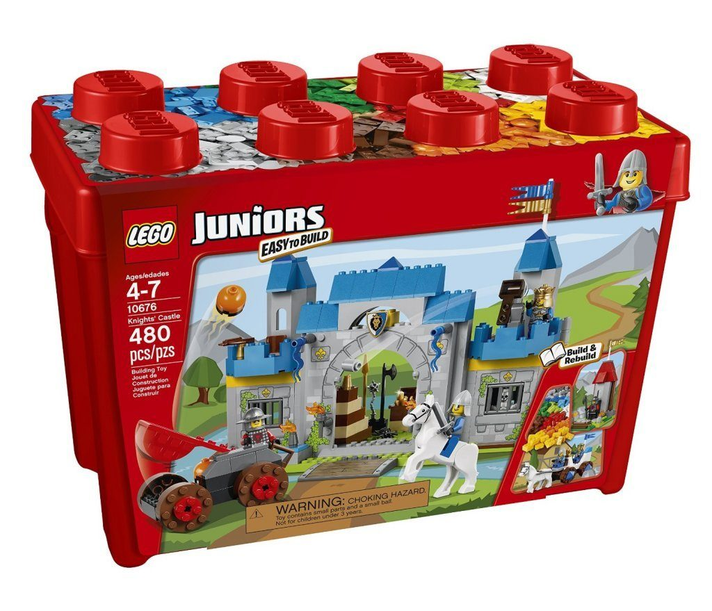 LEGO Juniors Knights' Castle Building Set