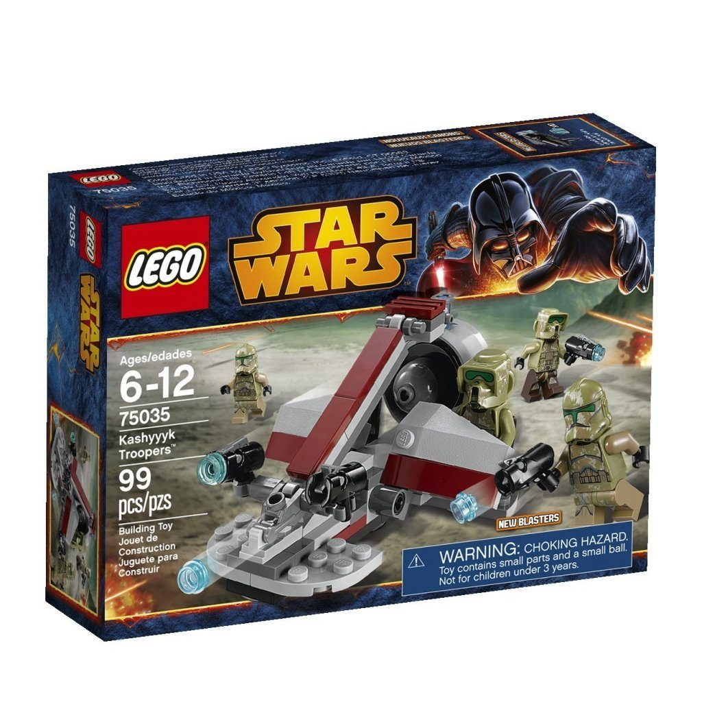 LEGO Star Wars Kashyyk Troopers $9.09 + FREE Shipping with Prime! (best price)