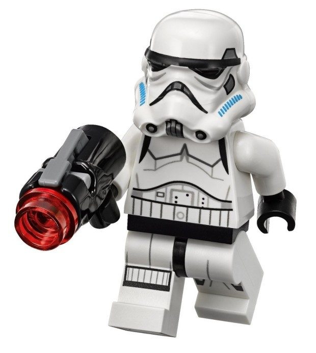 LEGO Star Wars: Rebels Stormtrooper Minifigure / Projectile Blaster Was $19 Just $7.34!