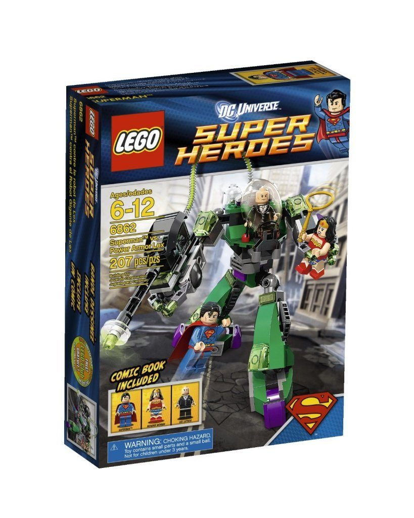 LEGO Super Heroes Superman Vs Power Armor Lex