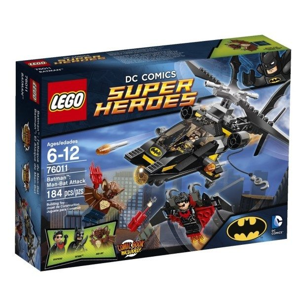 LEGO Superheroes Batman: Man-Bat Attack $15.94 + FREE Shipping with Prime!