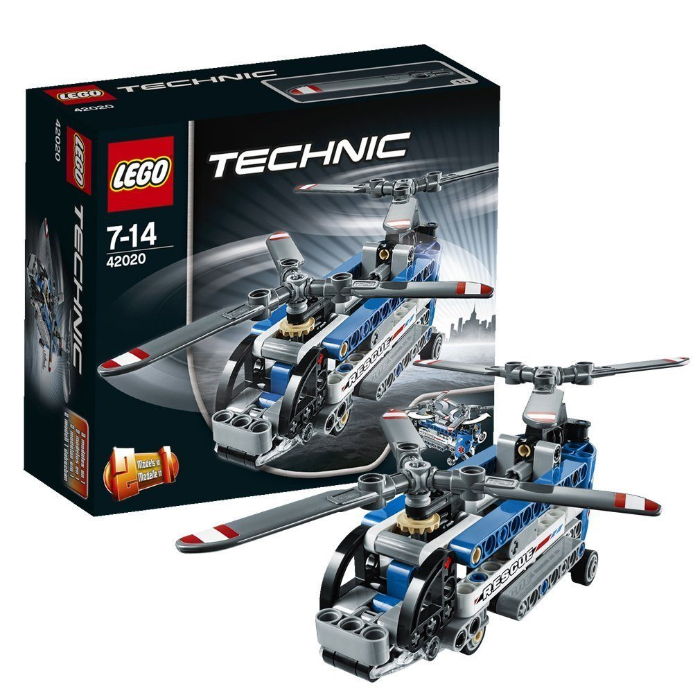 LEGO Technic 42020 Twin-rotor Helicopter