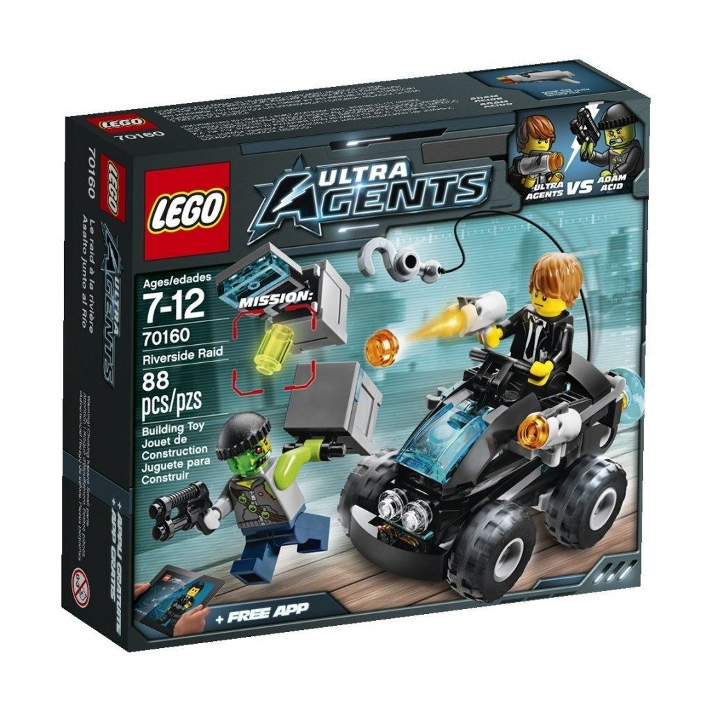 LEGO Ultra Agents Riverside Raid $9.59 + FREE Shipping with Prime!