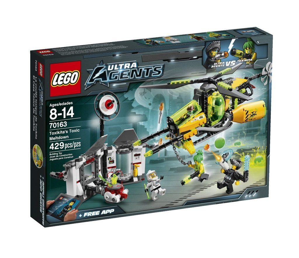 LEGO Ultra Agents Toxikita's Toxic Meltdown $25.49 + FREE Shipping with Prime! (reg. $39.99)