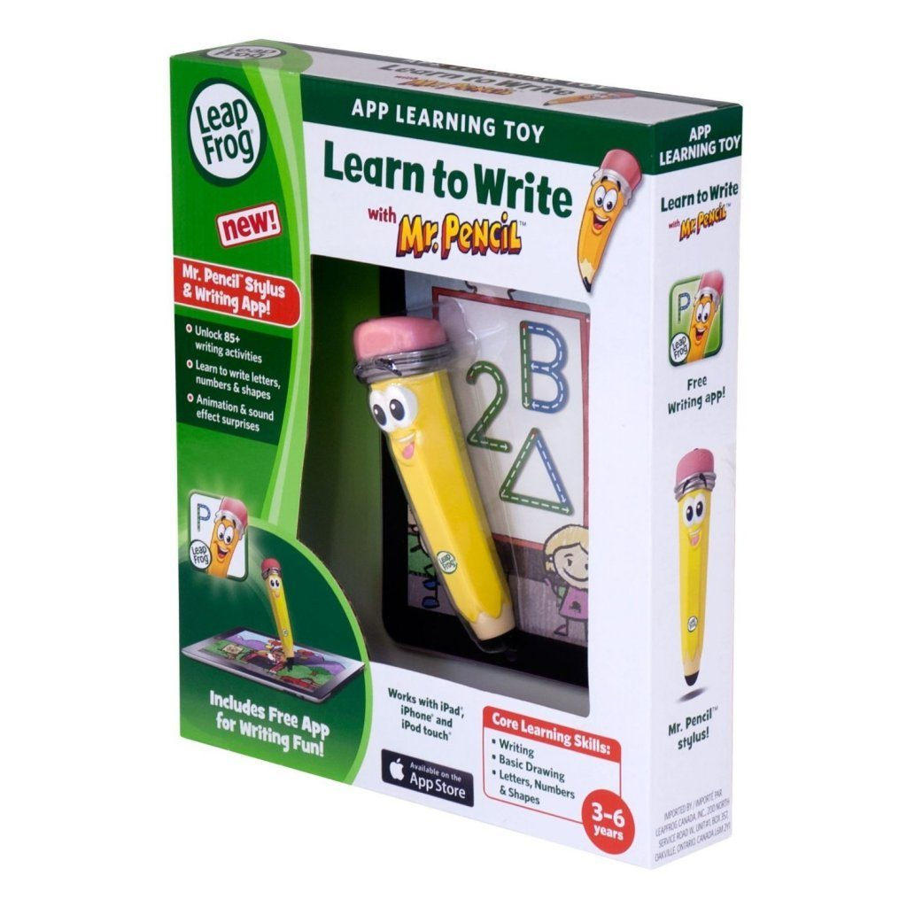 LeapFrog Learn to Write with Mr. Pencil Stylus & Writing App $7.48 + FREE Shipping with Prime!