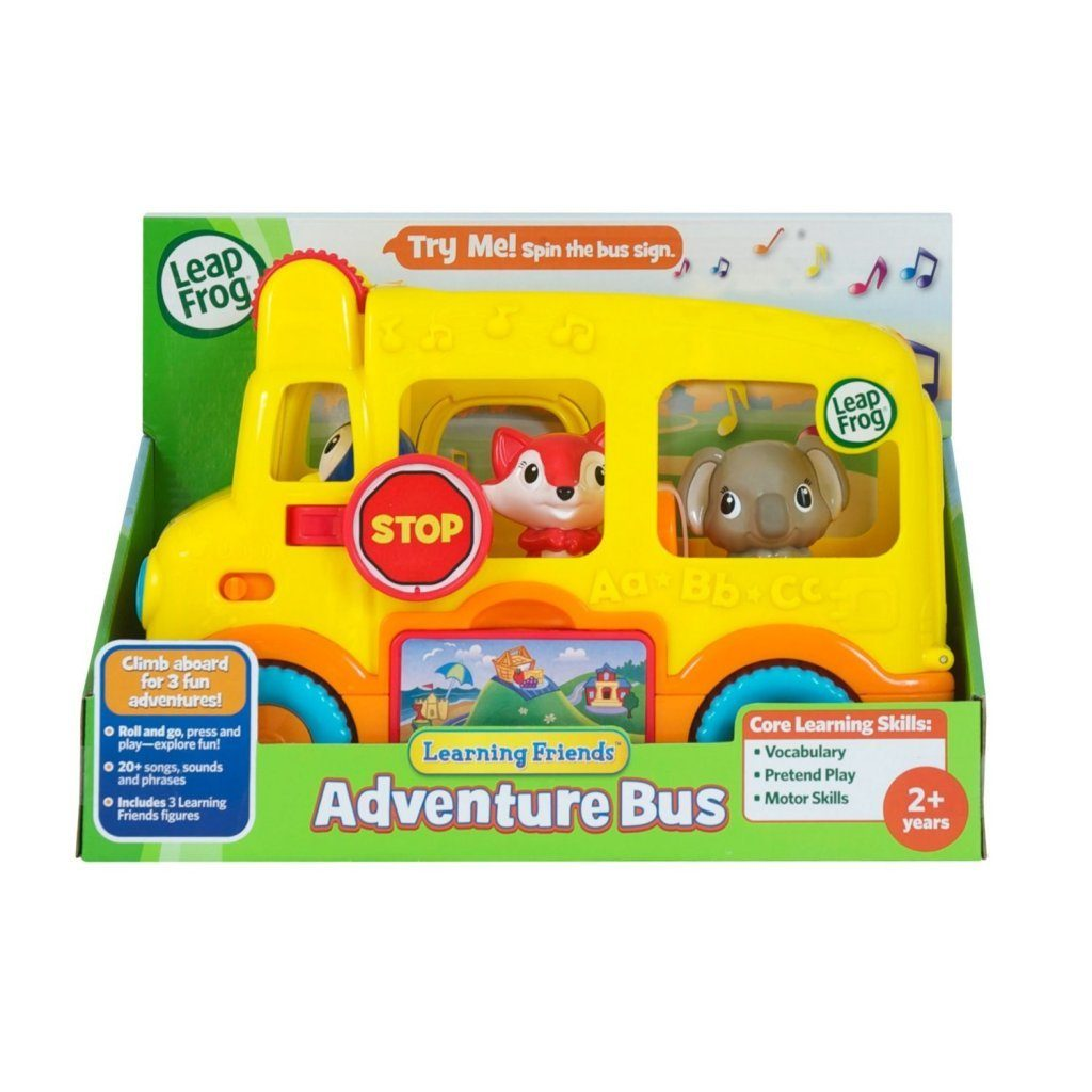 LeapFrog Learning Friends Adventure Bus Just $7.39 + FREE Shipping with Prime!