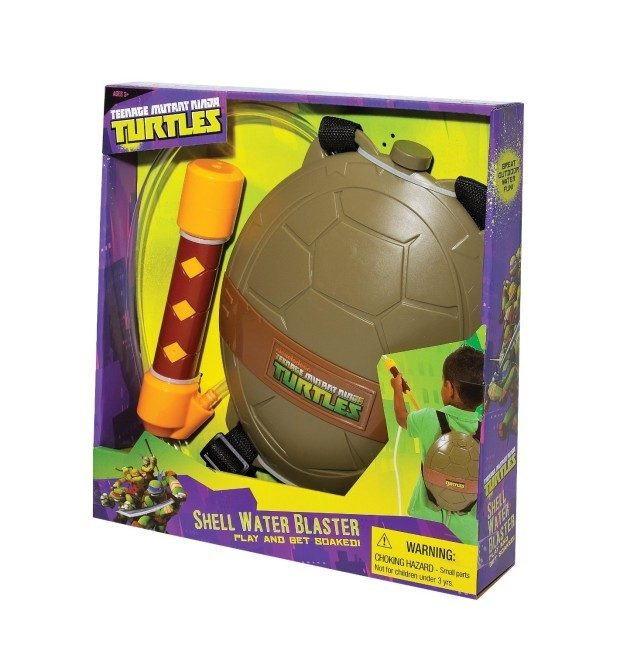 Teenage Mutant Ninja Turtles Shell Water Blaster Just $9.74! (reg. $18.99)