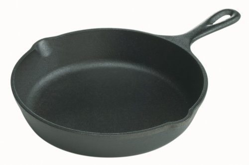 Pre-Seasoned Cast-Iron Skillet, 8-inch Just $10.59 + FREE Shipping with Prime!