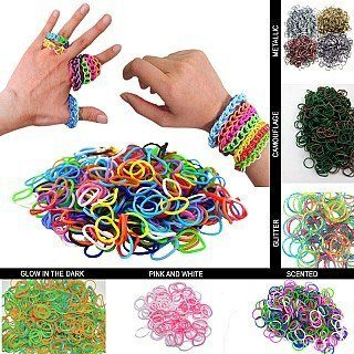 3000 Piece Loom Band Set Only $5.99 Shipped!