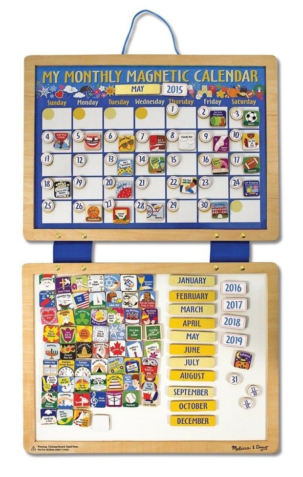 Melissa & Doug Deluxe Magnetic Calendar Only $16.26!