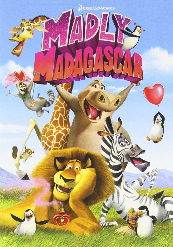 Madly Madagascar on DVD $4 + FREE Shipping with Prime!