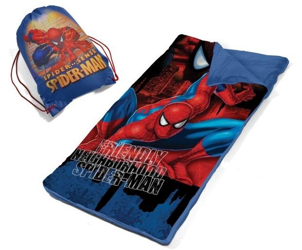 Marvel Spiderman Slumber Bag Set Just $9.57! Best Price!