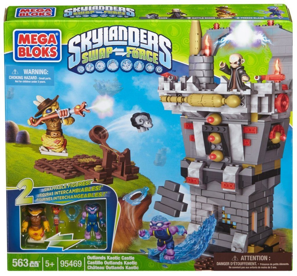 Mega Bloks Skylanders Outlands Kaotic Castle