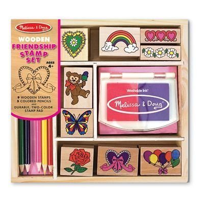 Melissa & Doug Friendship Stamp Set $7.99 + FREE Shipping with Prime!
