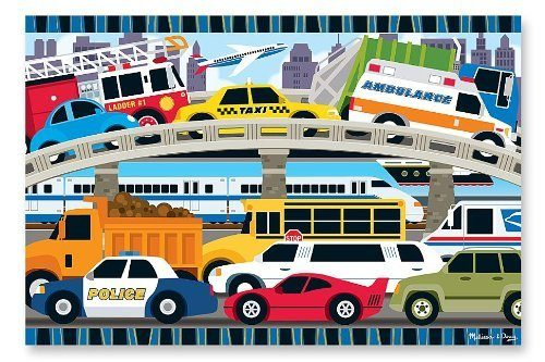 Melissa & Doug Traffic Jam Floor Puzzle Just $9.09!
