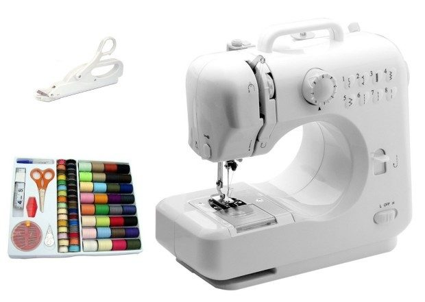 Michley Mini Sewing Machine, Electric Scissors & 100-Piece Sewing Kit Only $44.97!
