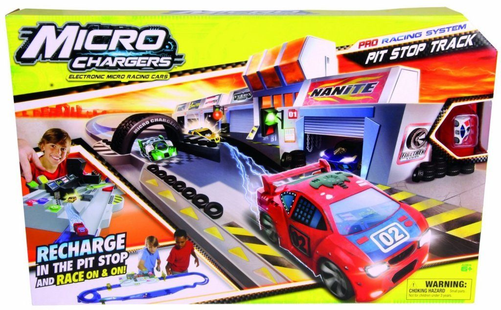 Micro Chargers Pro Racing Pit Stop Track