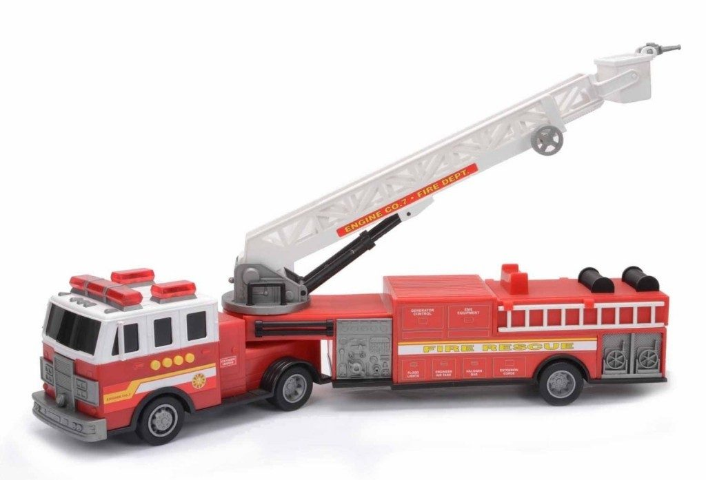 Mighty Wheels Hook and Ladder Fire Engine