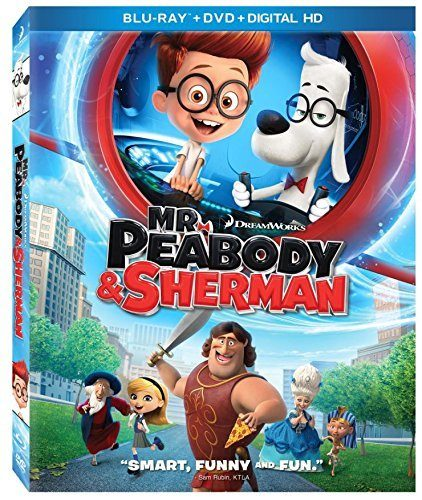 Mr. Peabody & Sherman (Blu-ray / DVD + Digital Copy) Just $10 + FREE Shipping with Prime!