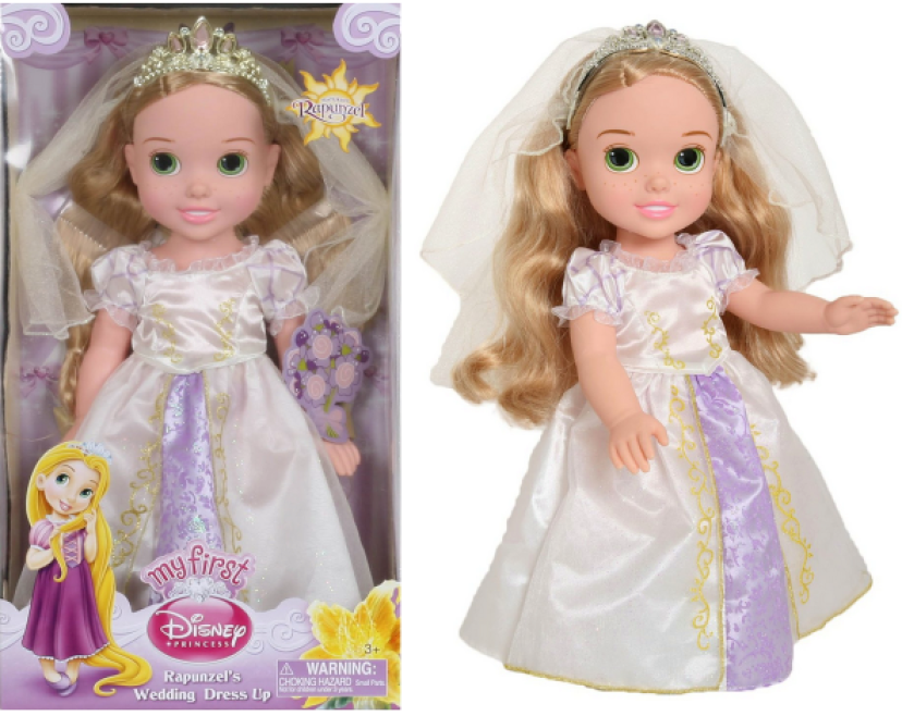 My First Disney Princess Rapunzel's Wedding Dress Up Only $9.23 (Reg. $27.99 – Best Price!)