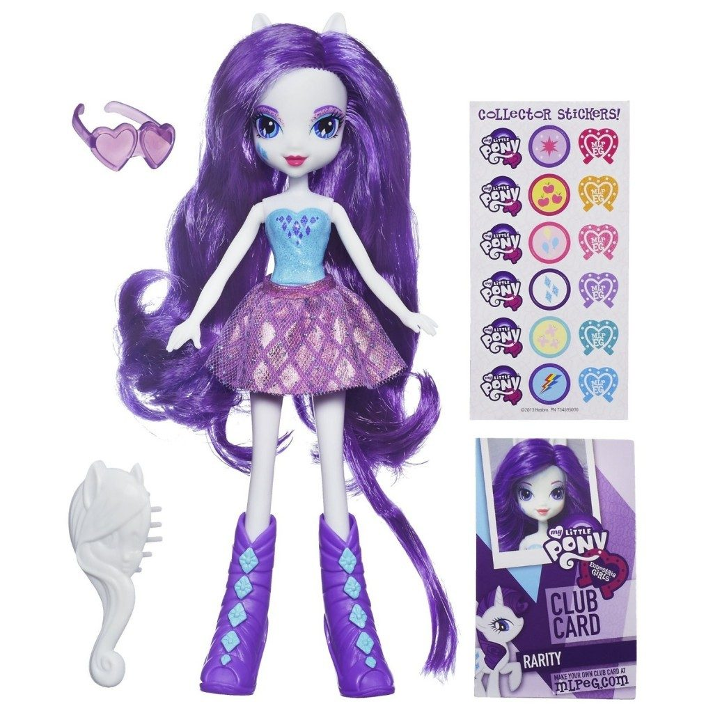 My Little Pony Equestria Girls Rarity Doll Only $9.99!