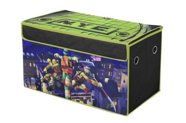 Nickelodeon Teenage Mutant Ninja Turtles Collapsible Storage Trunk Only $12.98! Reg. $19.99