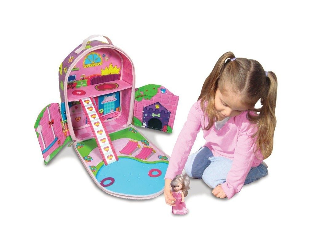 Neat-Oh! ZipBin Doll House Bring-Along Backpack