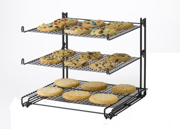 Nifty Non-Stick 3-Tier Cooling Rack Just $12.14!