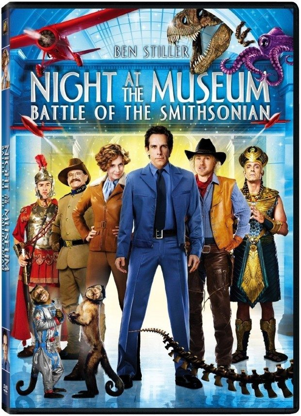 Night at the Museum: Battle of the Smithsonian DVD $4 + FREE Shipping with Prime!