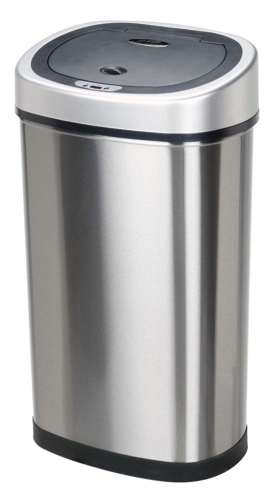 Infrared Touchless Stainless Steel Trash Can Just $39.88 Shipped! (Reg. $82)