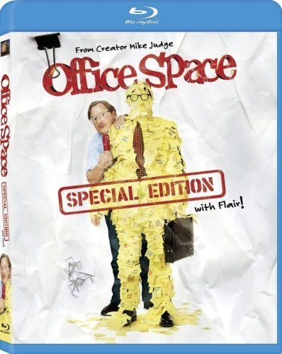 Office Space (Special Edition with Flair!) DVD or Blu-Ray $4.99 + FREE Shipping with Prime!