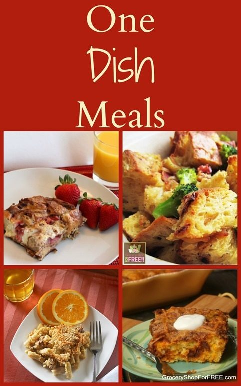 One Dish Meals!